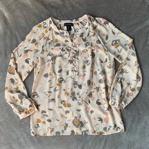 Cynthia Rowley Blouse Size Small